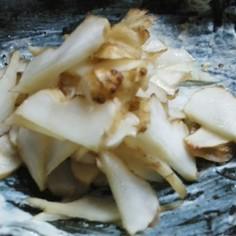 菊芋の味噌浅漬け