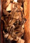 舞茸と豆腐のバター醤油炒め