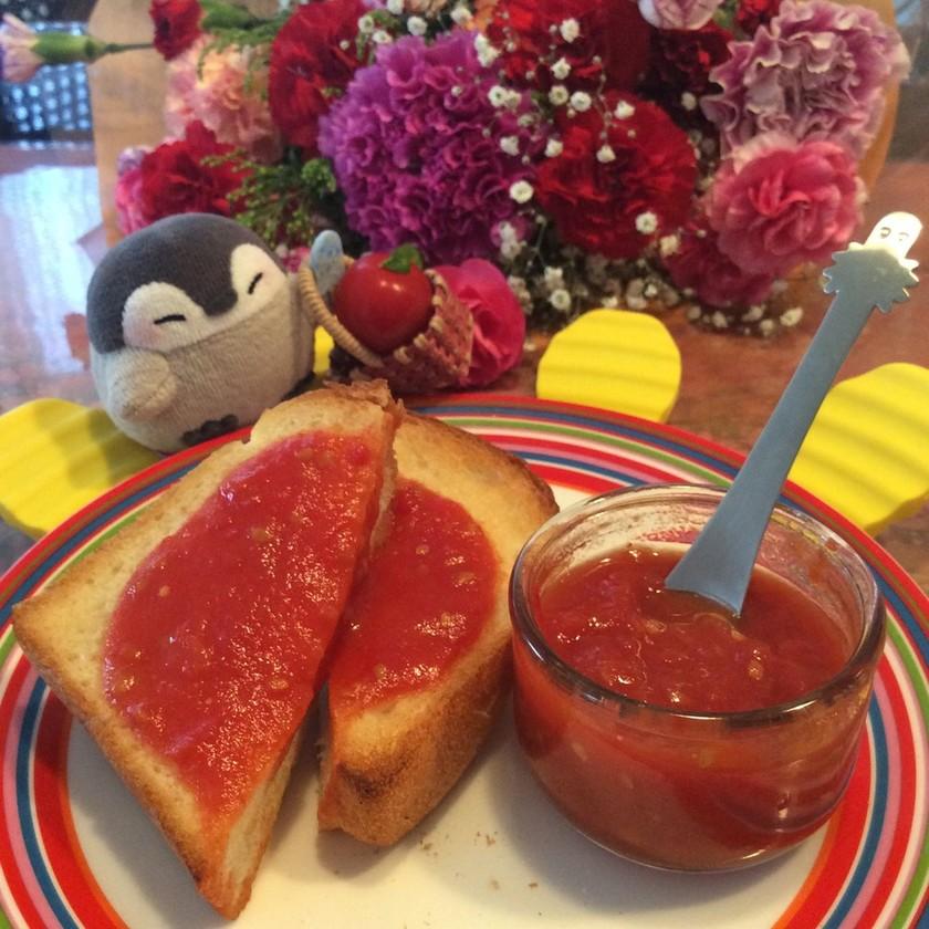 ♧甘酸っぱ〜い*完熟トマトのジャム