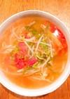 サラダチキンとイミダペプチドスープ