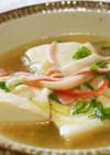 カニカマと豆腐のとろふわスープ♪