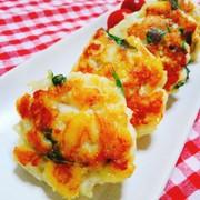 お弁当にも☆むね肉のこんがりチーズ焼きの写真