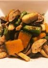 ・鶏肉と野菜のニンニク炒め・