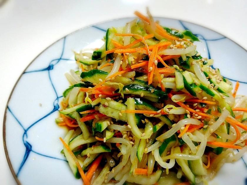 モヤシと胡瓜のサッパリ副菜☆
