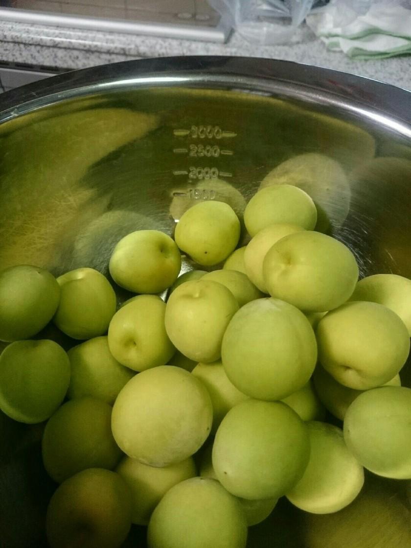 梅シロップを蜂蜜で…(リンゴ酢入り)