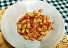 柔らか大豆と桜えびの甘辛炒め