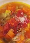 離乳食にも!親子で食べる万能野菜スープ♪