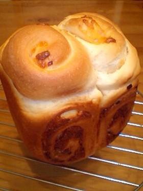 HBで食パン型ハムマヨロール