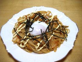 寿司酢で簡単、あっさりキムチパスタ☆