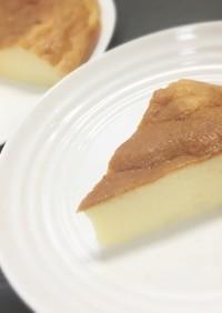 簡単♡炊飯器でスフレチーズケーキ(^^♪
