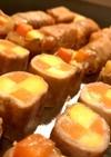 弁当☆冷凍☆野菜の豚肉巻