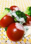 野菜サラダ★簡単アンチョビマヨソース