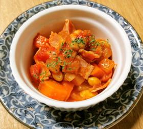 ポーランドの家庭の味!レチョ風トマト煮