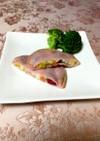 お弁当に簡単*彩りハムチーズ