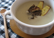 簡単!さつまいもときのこのスープ
