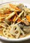 簡単!豚と根菜の煮物