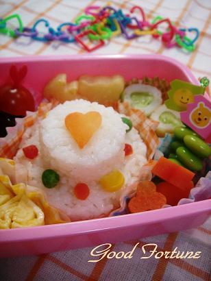 キャラ弁☆ケーキごはん弁当♪