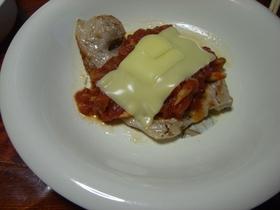 豚肉でイタリアン
