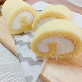 フワフワしっとりロールケーキ