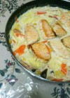牛乳でお手軽!鮭と野菜のクリーム煮☆