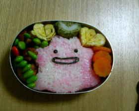 メタモン弁当 (ポケモンキャラ弁)