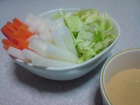 マヨ味噌ディップwith野菜スティック