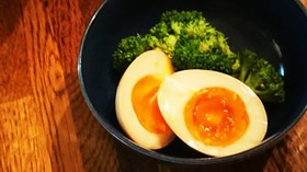 ねっとり味たま(茹で卵から)