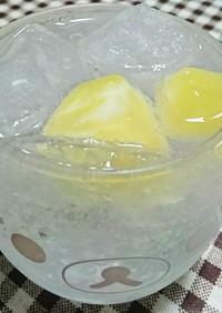 レモンの保存に☆レモン氷