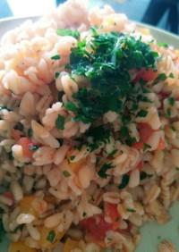 野菜たっぷり白米代わりの小麦♥
