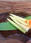 根曲がり竹の子の        甘酢漬け