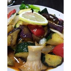 夏野菜の⭐️爽やか⭐️レモン炒め