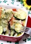 夏野菜の味噌マヨチーズ焼き*