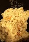 桜海老と塩昆布の炊き込みご飯