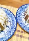 抹茶&ホワイトチョコのしっとりケーキ