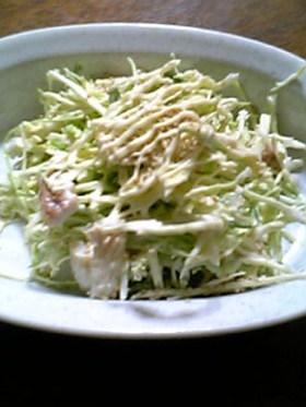 簡単☆キャベツとちくわのサラダ