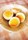 簡単!味付き卵