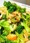 簡単時短!レタスとブロッコリーのサラダ