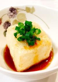めんつゆで簡単♡揚げだし豆腐