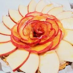 リンゴ紅茶タルト♡バナナカスタード入り