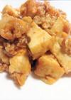 厚揚げと豚肉のピリ辛炒め(麻婆厚揚)