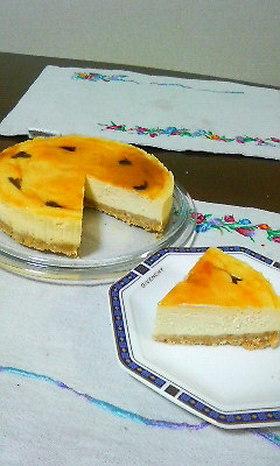 簡単!チーズケーキの土台ビスケット