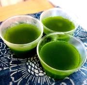 アガーで♪うす茶糖ゼリーの写真