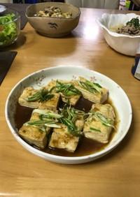 簡単 豆腐ステーキ
