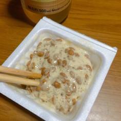 泡フワッ♡ヘルシ〜な酢納豆!!