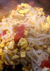 トマトと卵のソーミンチャンプルー