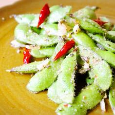 枝豆のガーリックソテー