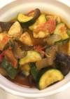 ささみと夏野菜のラタトゥイユ風