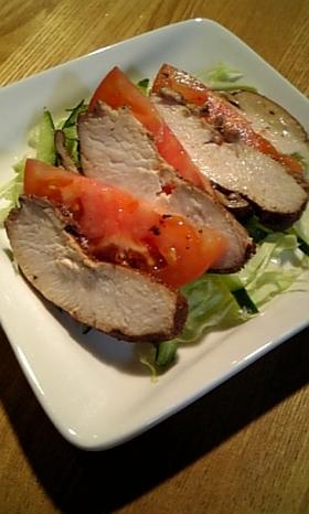 ☆鶏むね肉de紅茶煮☆