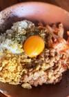 キムチ納豆丼