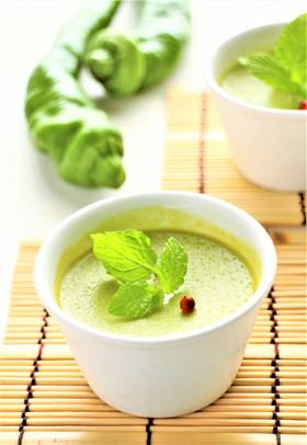 【野菜ソムリエ】万願寺とうがらしのプリン